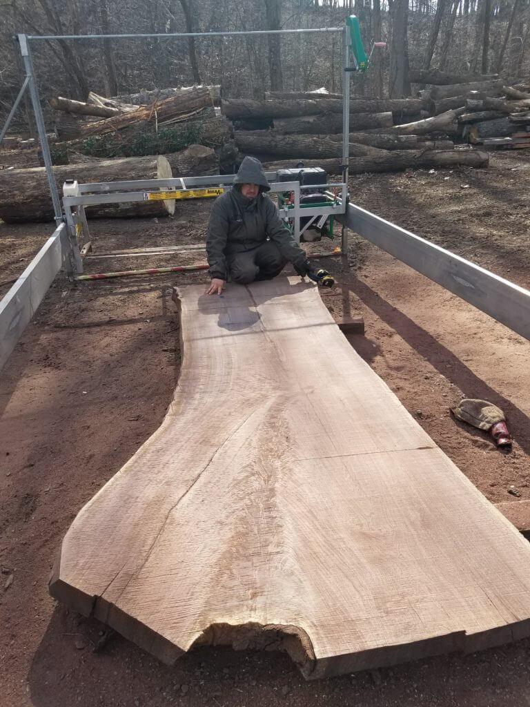 Large Walnut slab
