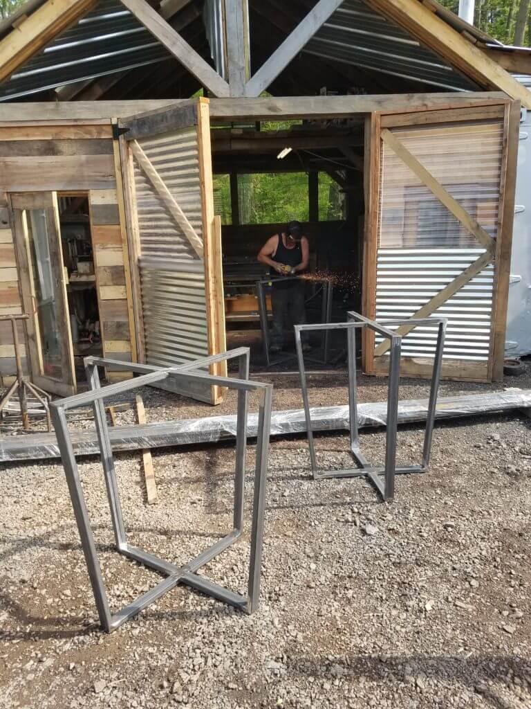 metal bases eco friendly lumber metal shop