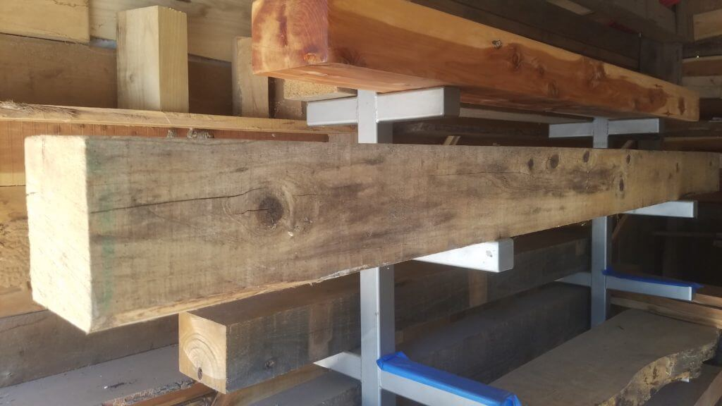 large beam out of a demolition job