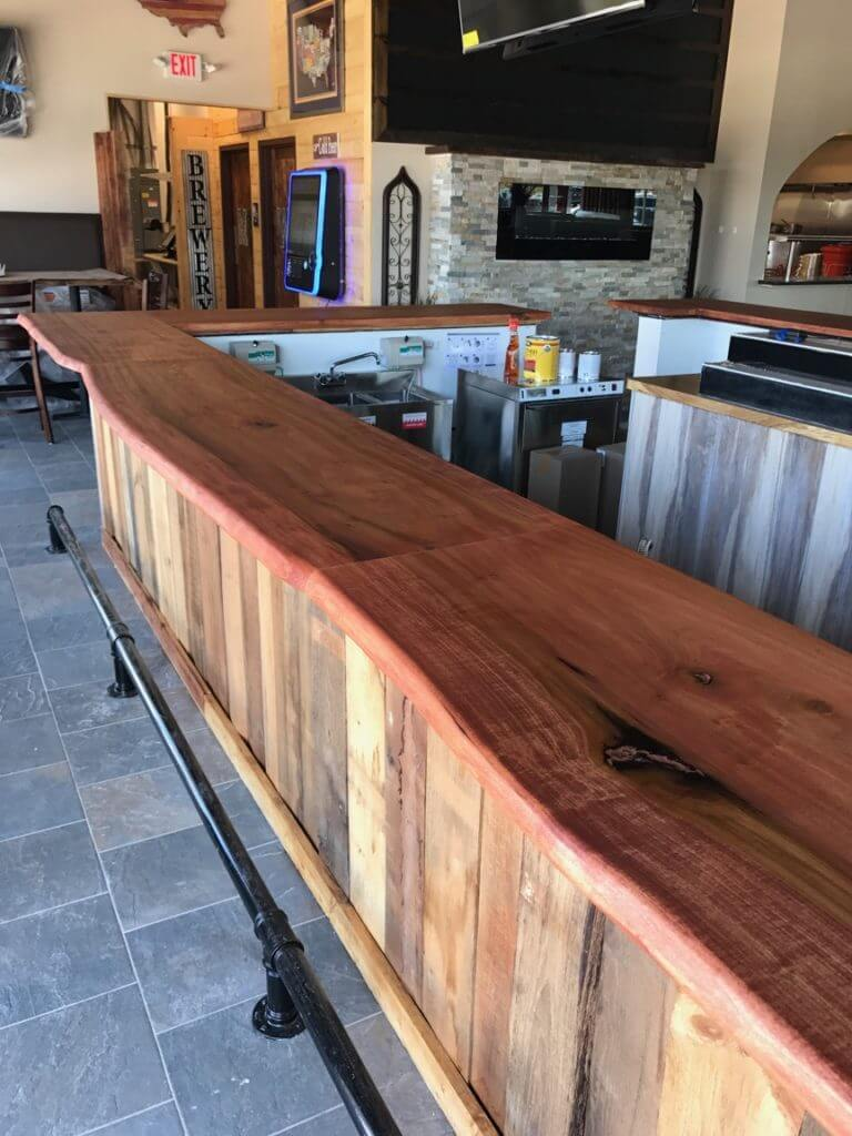 Custom bar for social house