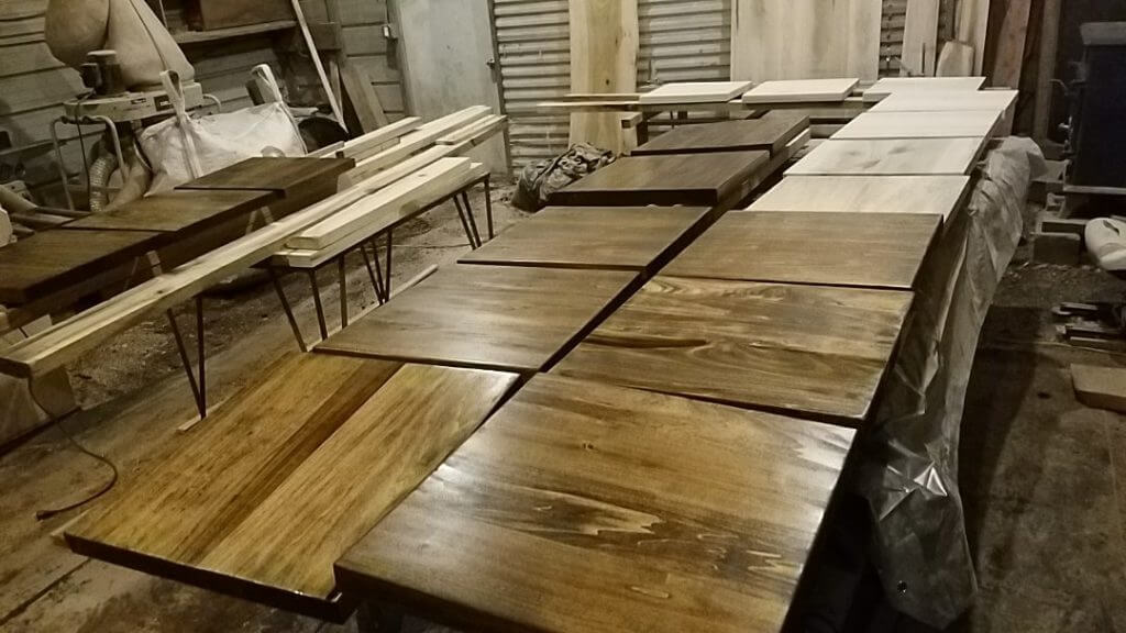 restaurant tables custom made